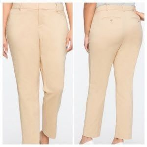 Eloquii Lady Camel Trouser Wear to Work Pants 22R